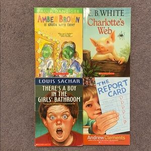 lot of Scholastic children's books